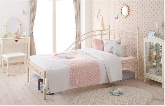 姫アイアンベッド家具