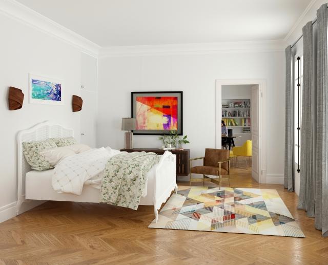 寝室のカラー風水